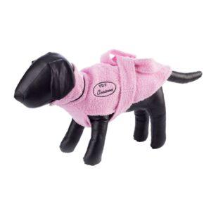 Pink Dog Bathrobe by Dog Fashion Spa
