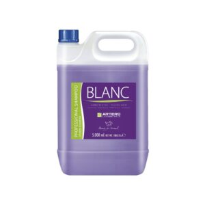 Blanc White or Black Coat Shampoo 5 Liters by Artero