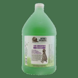 natures specialties Aloe concentrate gallon shampoo