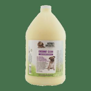 natures specialties coconut clean gallon shampoo