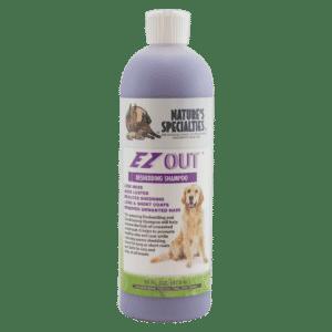 natures specialties ez out 16 oz shampoo
