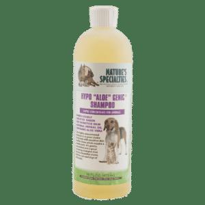 natures specialties hypo active 16oz shampoo