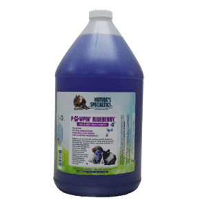 natures specialties pawpin blueberry gallon shampoo