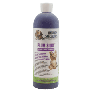 natures specialties plum silky 16oz shampoo