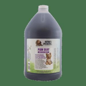 natures specialties plum silky gallon shampoo