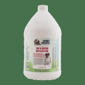 natures specialties tar and sulfur gallon shampoo