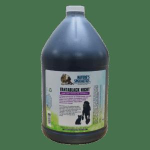 natures specialties vantablack night gallon shampoo