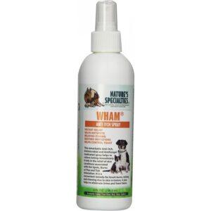 natures specialties wham anti itch spray 8 oz