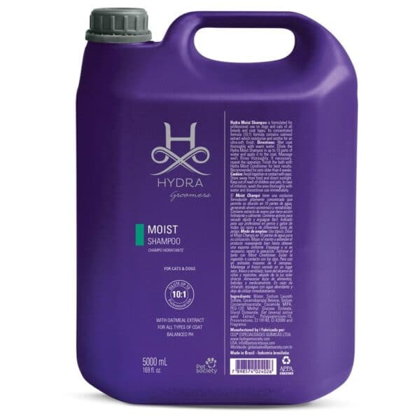Moist Shampoo 1.3 Gallon by Hydra