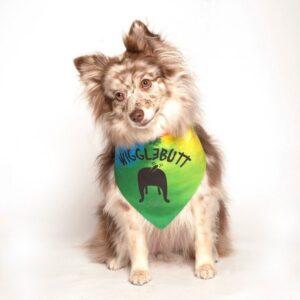 Wiggle Butt Dog Bandana by Dog Fashion Living
