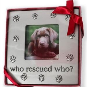 Who Rescued Who? Picture Frame