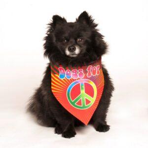 dog fashion living dogs for peace bandana