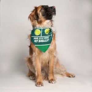 dog fashion living have you seen my balls l bandana