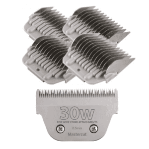 30W Wide Blade with Wide Comb Attachment Set by Mastercut