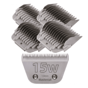 15W Wide Blade with Wide Comb Attachment Set by Mastercut