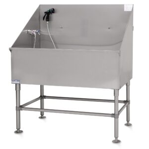 Classic LE Stainless-Steel 48″ Tub by PetLift