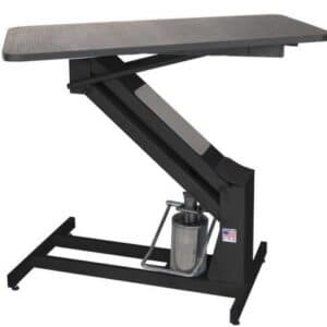 MasterLift Hydraulic Grooming Table with Rotating Top by PetLift