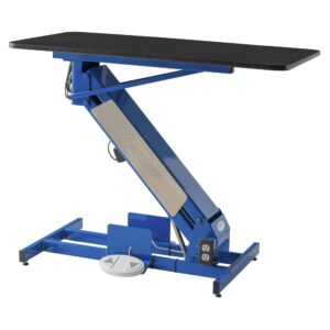 MasterLift LowRider Electric Grooming Table with Rotating Top by Petlift
