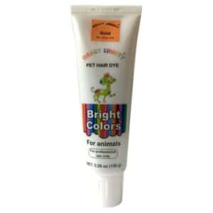 Gold Pet Hair Dye Color by Crazy Liberty