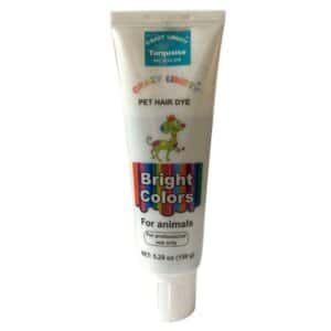 Turquoise Pet Hair Dye Color by Crazy Liberty