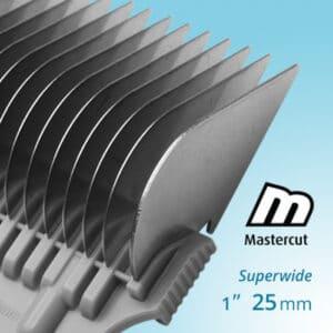 Mastercut clipper comb attachment 25mm Superwide