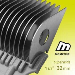 Mastercut clipper comb attachment 32mm Superwide