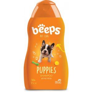 Beeps puppy shampoo with milk protein 17 oz