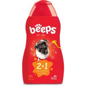 Beeps shampoo 2 in 1 oatmeal 17 oz