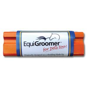 Orange Equigroomer Dog Deshedding Tool