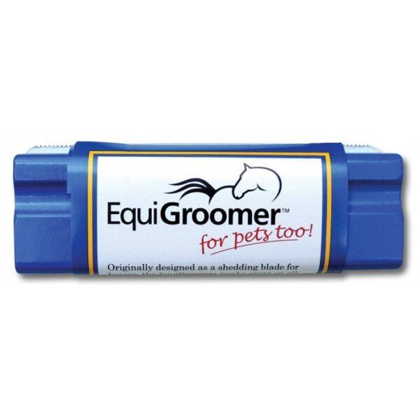 Equigroomer blue furminator deshedding tool