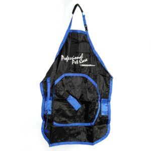 Deluxe Grooming Apron in Black/Blue by Proguard
