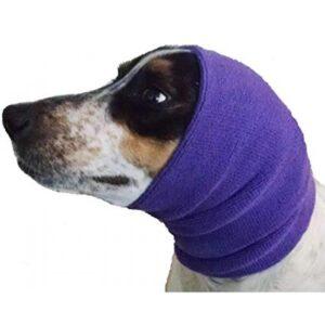 Happy Hoodie medium large purple calming hood