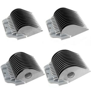 Set of 4 Extra Long Wide Comb Attachments by Zolitta