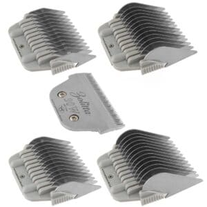 Set of 4 Wide Comb Attachments with 30W Blade by Zolitta