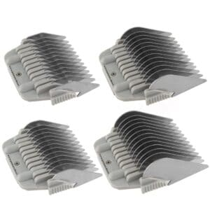 Set of 4 Wide Comb Attachments by Zolitta