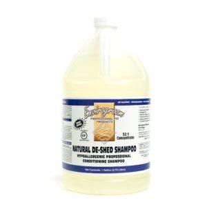 Natural De-Shed Shampoo 1 Gallon by Envirogroom