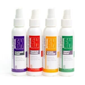 Set of 4 Colognes 4oz by Special FX