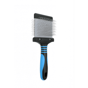 Doodle Blue Slicker Brush - Pro Firm by Dog Fashion Spa