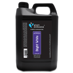 Bright White Shampoo 4 Litre by Groom Professional
