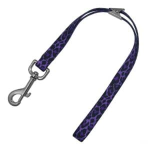 Grooming Loop 15'' Purple Leopard by Loop Dawgy Dawg
