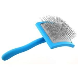 Large Blue Slicker Brush by Zolitta