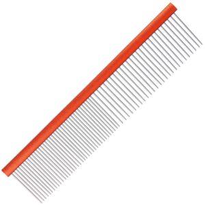 Groom Professional aluminium orange comb grooming