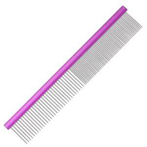 Groom Professional aluminium pink comb grooming