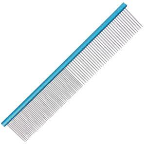 Groom Professional aluminium light blue comb grooming