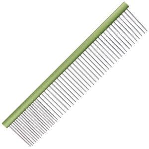 Groom Professional aluminium lime green comb grooming