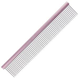 Groom Professional aluminium pastel pink comb grooming