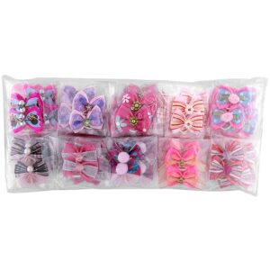groom professional pink bow for groomers pack